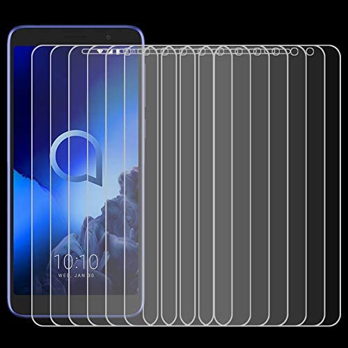 2019 LGYD for 50 PCS for Alcatel 1X 2.5D Non-Full Screen Tempered Glass Film