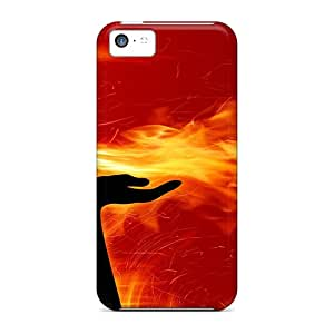 TimJames Iphone 5c Well-designed Hard Case Cover Women Of Fire Protector