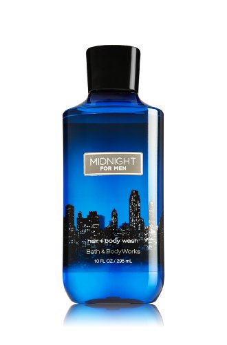 Bath & Body Works, Signature Collection 2-in-1 Hair + Body Wash, Midnight For Men, 10 ()