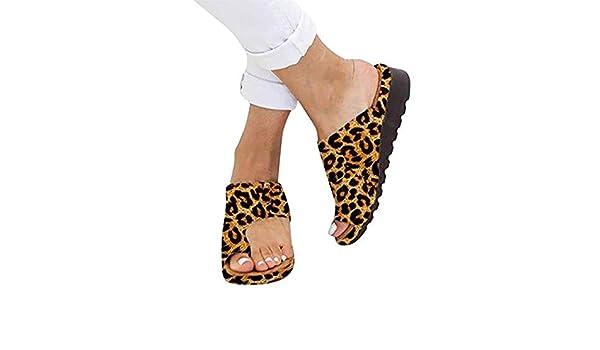 Beach Sandalias correctoras Corrección Sandalias Corrector de juanetes Punta Abierta Zapatos de Viaje Verano Playa Zapatillas correctoras de juanete Mujer ...
