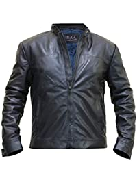 Tom Cruise Leather Jacket - Mission Impossible Fallout Black Leather Jacket