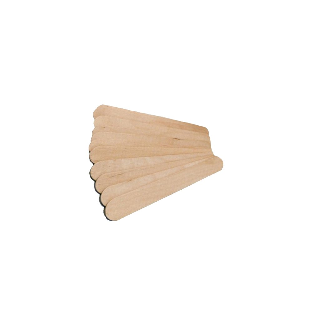 Vivid Wooden Disposable Tongue Depressor – For Medical, Dental, Orthodontic Practices – Single Use – Pack of 500