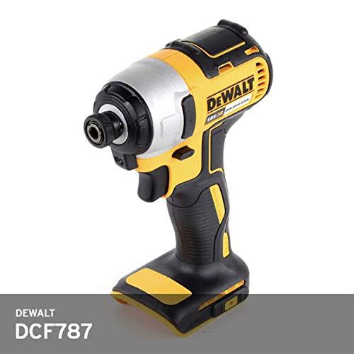 De-Walt DCF787 20V 20 Volt MAX Li-Ion 1/4″ Hex Brushless Impact Drill Driver