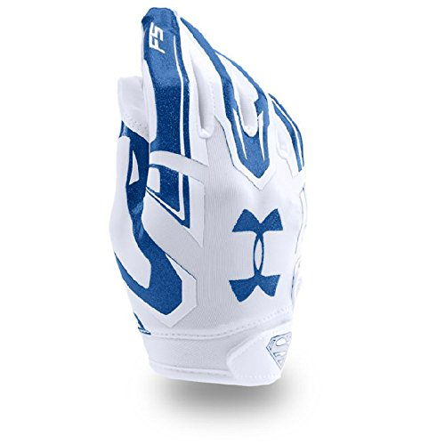 Under Armour Boys Youth Alter Ego Superman F5 Football Gloves