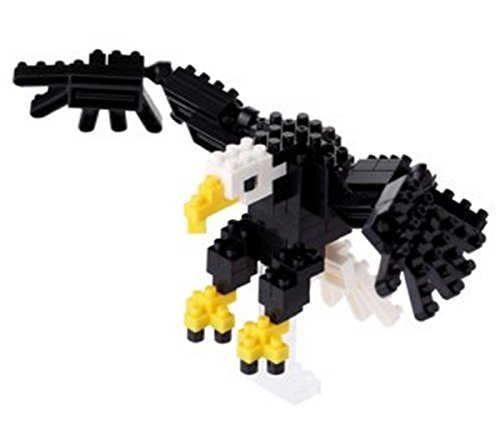 Nanoblock Bald Eagle Building Kit