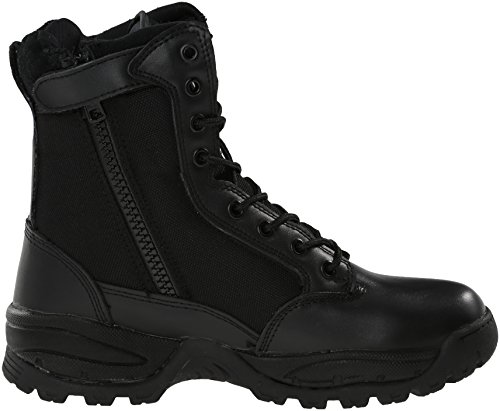 Women's Inch Work 8 Maelstrom Military Black TAC Tactical Duty Zipper Boot Force with nHdna4BxIw