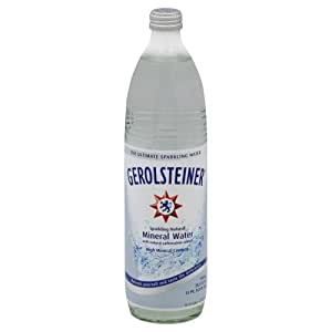 Gerolsteiner Sparkling Mineral Water, 25.3 Fl Oz (Pack of 15)
