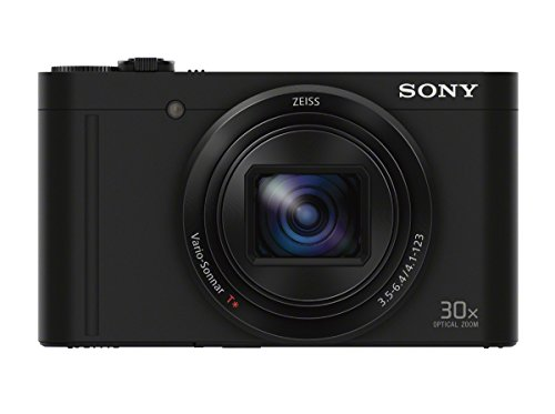 Sony DSCWX500/B Digital Camera (Black)