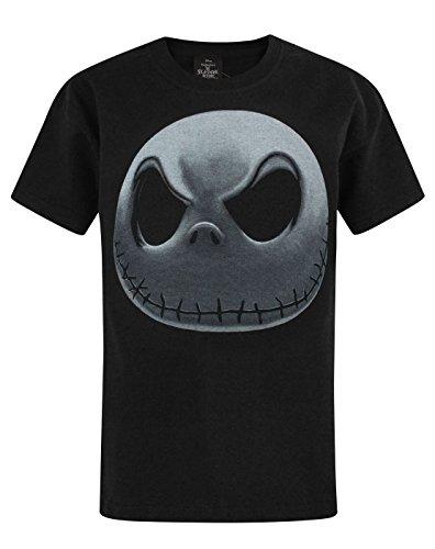Official Nightmare Before Christmas Jack Skellington Boy's T-Shirt (9-10 (Jack Skellington Children)