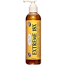 NaturOli EXTREME 18X Soap Nuts/Soap Berry Liquid Laundry Soap, Natural HE Detergent & Green All-purpose Cleaner. SUPER-concentrated, Sulfate-free, Allergy-free, Unscented.
