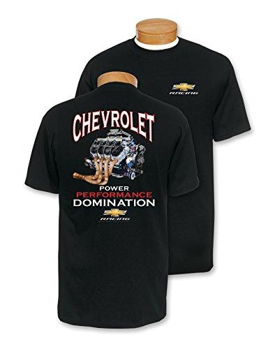 Chevrolet Racing - Black Chevrolet Racing Power Performance Domination T-Shirt