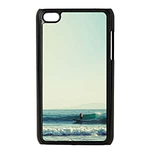 Surf's Up iPod Touch 4 Case Black Special gift AJ8P18P4