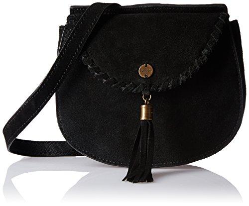 Superdry Ring Mujer Cross Body Bag Negro Negro