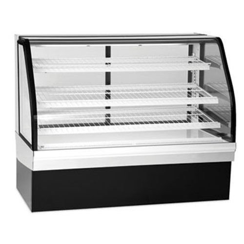 Federal Ecgr-59 Bakery Display Case, Refrigerated, Tilt Out Curved Glass, 59