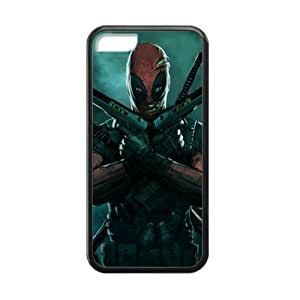 CTSLR Laser Technology DeadPool TPU Case Cover Skin for Cheap phone iphone 4/4s iphone 4/4s-1 Pack- Black - 5