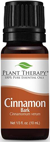 Plant Therapy Cinnamon Bark Essential Oil. 100% Pure, Undiluted, Therapeutic Grade. 10 ml (1/3 oz).