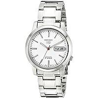 Seiko Men's SNK789 Analog Automatic Self Wind Silver Watch