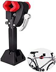 MUYDZ Bike Repair Stand Foldable Bicycle Wall Mount Rack Workstand Bicycle Mechanic Maintenance for Storage Bi