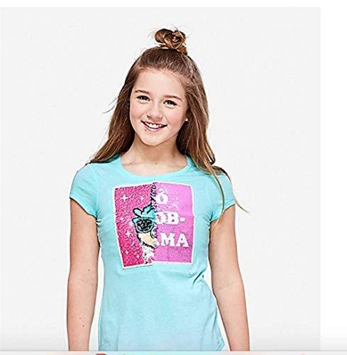 Price comparison product image Justice Girls Tee Shirt No Prob Llama Unicorn (12)