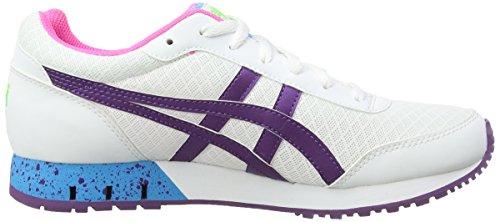 Onitsuka Tiger Curreo - Zapatillas de deporte para mujer Blanco (White / Purple 133)