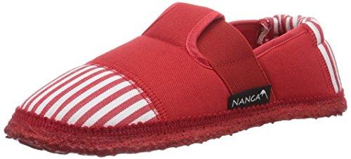 Nanga Sandstrand Mädchen Flache Hausschuhe Rot (20)