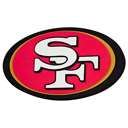 NFL San Francisco 49Ers 3D Foam Wall Sign