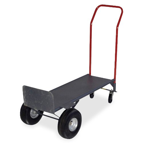 Sparco Convertible Hand Truck, with Deck, 21 x 18 x 47 Inches, 800 lbs. Cap (SPR72638) (Sparco Convertible Hand Truck)