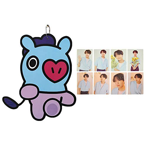 Youyouchard Kpop BTS Bangtan Boys Cute Cardboard Painting Cartoon Hanging Paintings Room Decoration with a Set of BTS - Hope Hanging