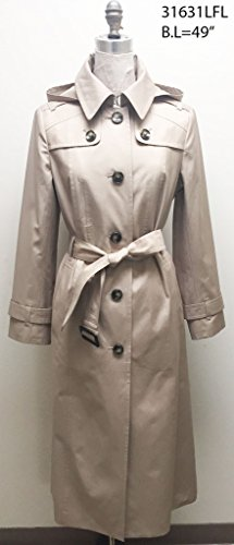 london-fog-womens-hooded-single-breasted-trench-toffee-outerwear