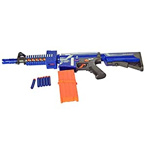 LOBZON Children Toy Sniper Rifle Soft Bullet Electric Shooting Toy Gun Blaster