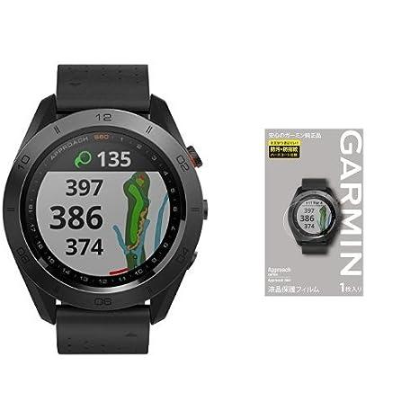 6385259476 Amazon | GARMIN(ガーミン) Approach ゴルフナビ Approach S60 Premium 010-01702-22 &  液晶保護フィルム セット | GARMIN(ガーミン) | ゴルフ用GPS・アクセサリー