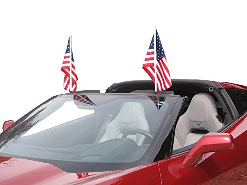 2014-2017 Corvette C7 Flag Caddie Coupe Windshield ()