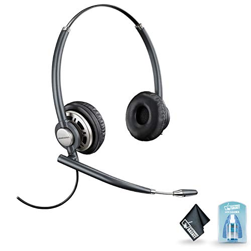 (Plantronics EncorePro HW720 Binaural Headset with Noise-Canceling Mic with Accessories)