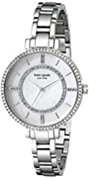 kate spade new york Women's 1YRU0691 Gramercy Stainless Steel Bracelet Watch