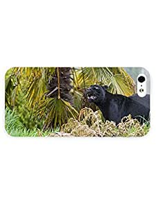 3d Full Wrap Case for iPhone 5/5s Animal Black Panther23