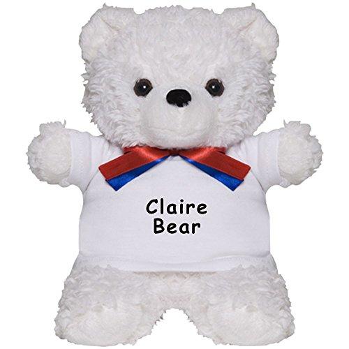 Claire Bear (CafePress - Claire Bear - Teddy Bear, Plush Stuffed Animal)