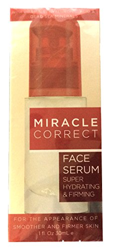 Miracle correct Super Hydrating & Firming Face Serum With Vitamin E Hyaluronic Acid and Dead Sea Minerals … Review