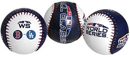 (Rawlings 2018 MLB World Series Dueling Teams Baseball Red Sox Dodgers)