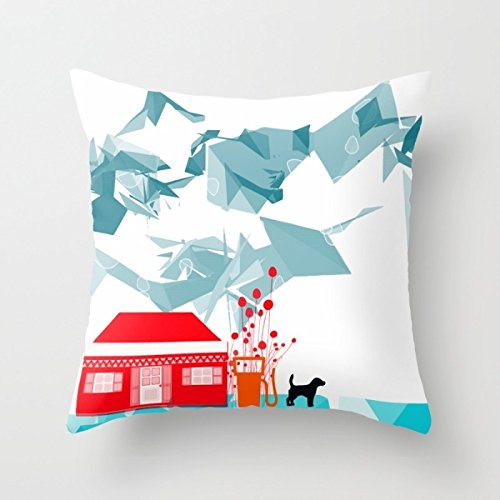 Price comparison product image Slimmingpiggy Pillow Cases 20 X 20 Inches / 50 By 50 Cm(2 Sides) Nice Choice For Drawing Room, wife, christmas, son, wife, car Seat Dogs