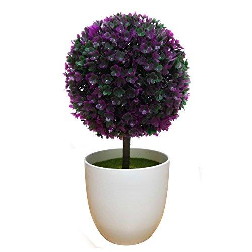 XuanMax Creativo Flores Artificial con Pot Plantas Artificiales Potted Plant Artificiale Simulacion Sakura Planta en Maceta...
