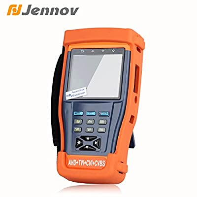 "Jennov 4 In 1 Multi-function Cctv Security Camera UTP Tester 3.5"" Color LCD Monitor For AHD / TVI / CVI / CVBS Video Surveillance Auido Tester from Shenzhen Dianchen Industrial Co.,Ltd"