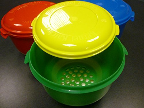 Colonel's Kernel Catcher Popcorn Bowl - Yellow & Green