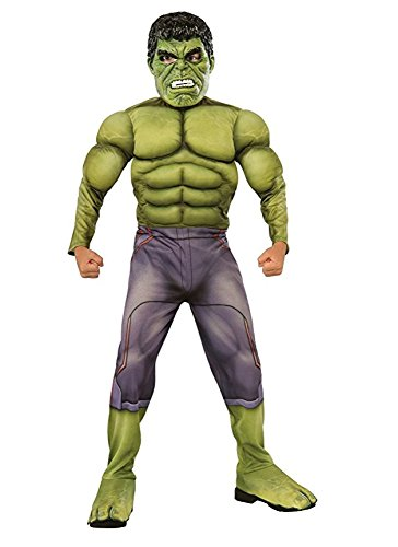 Marvel Hulk Muscle Chest Costume - Ages 3-4 ()