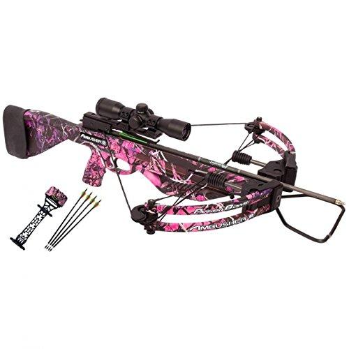 (Parker Bows X311-IR Pink Ambusher Crossbow Pkg Illuminate M.R. Scope)