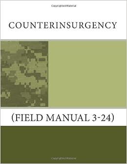 Counterinsurgency FM 3-24