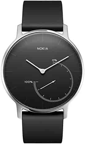 Withings / Nokia | Steel – Activity Tracker, Sleep Monitor, Water Resistant Smart Watch with 8-month battery life