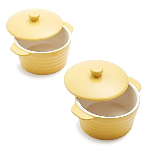 Sur La Table Yellow Oven-to-Table Mini Cocottes M913 WIN , Set of 2