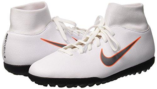 Fútbol mtlc Superflyx total 6 Cool Grey Negro De Club Tf Zapatillas Nike Unisex 107 Adulto white Orange qPYdwq