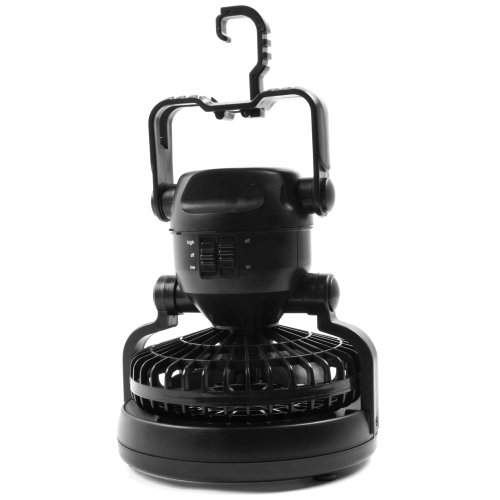 Deluxe Camping Combo LED Lantern and Fan, Outdoor Stuffs