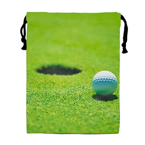 Hole Golf Party Supplies Favors Bags Drawstring Gifts -